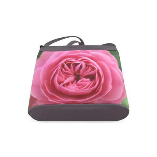 Rose Fleur Macro Crossbody Bags (Model 1613)