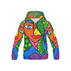 Blooming All Over Print Hoodie for Kid (USA Size) (Model H13)
