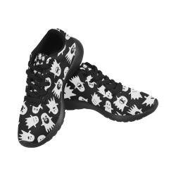 Halloween Ghosts Women's Running Shoes (Model 020)