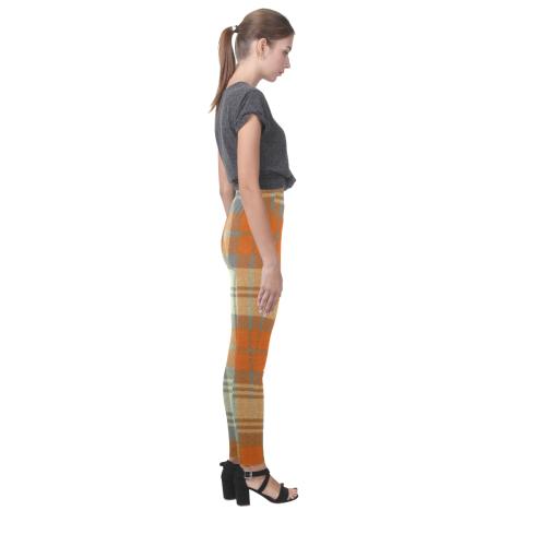 TARTAN PATTERN 54 Cassandra Women's Leggings (Model L01)