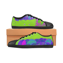103-Brainy Canvas Shoes for Women/Large Size (Model 016)