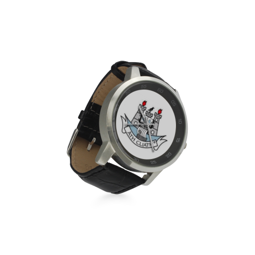 Dublin Unisex Watch Unisex Stainless Steel Leather Strap Watch(Model 202)