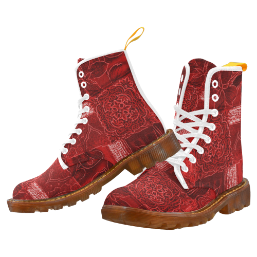 Red Queen Martin Boots For Women Model 1203H