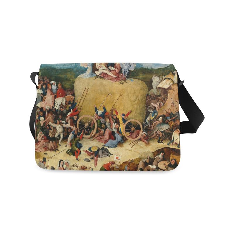 Hieronymus Bosch-The Haywain Triptych 2 Messenger Bag (Model 1628)