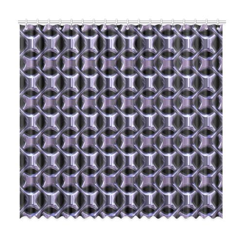 """Shiny metal braid Window Curtain 50""""x96""""(Two Piece)"""