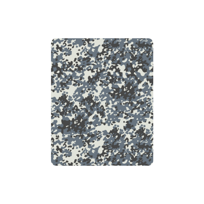 Urban City Black/Gray Digital Camouflage Rectangle Mousepad