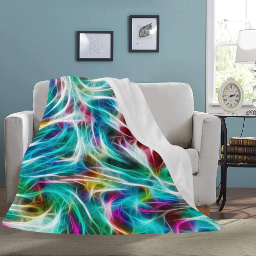 "Misty Moods - Jera Nour Ultra-Soft Micro Fleece Blanket 60""x80"""
