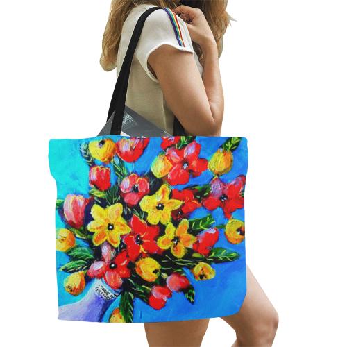 manusartgnd All Over Print Canvas Tote Bag/Large (Model 1699)