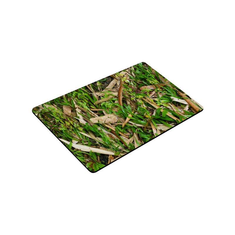 "YS_0011 - Bamboo Leaves #2 Doormat 30""x18"""