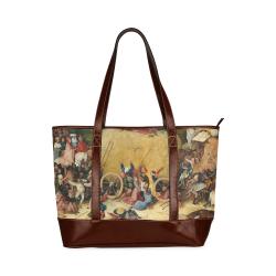 Hieronymus Bosch-The Haywain Triptych 2 Tote Handbag (Model 1642)