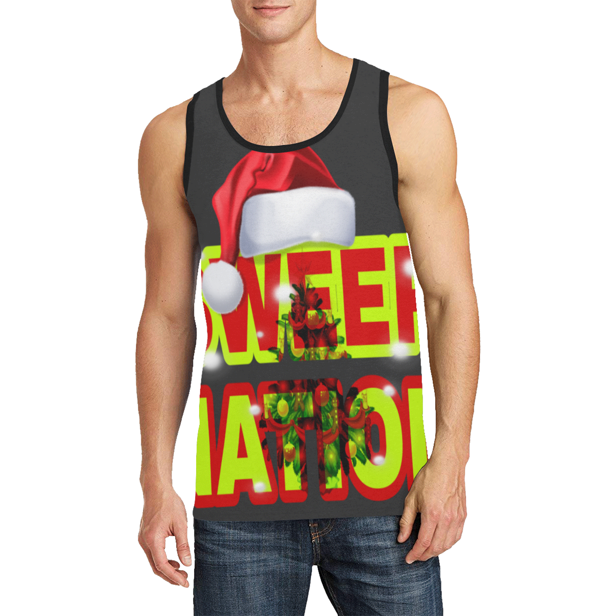Sweep Nation - Christmas Men's All Over Print Tank Top (Model T57)