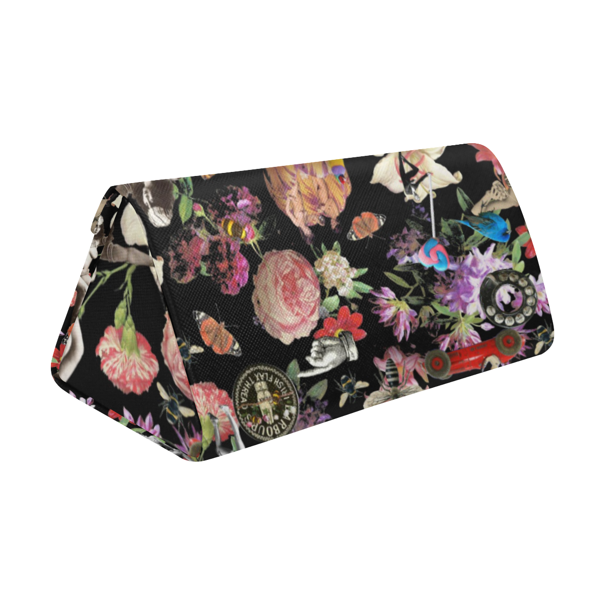 Garden Party Custom Foldable Glasses Case