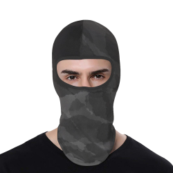 CAMOUFLAGE DARK GREY All Over Print Balaclava
