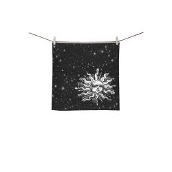 "Mystic Sun Square Towel 13""x13"""