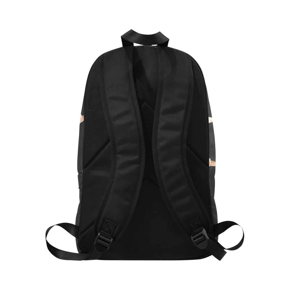 dolly blk Fabric Backpack for Adult (Model 1659)