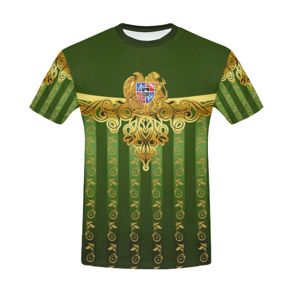 Coat of arms of Armenia All Over Print T-Shirt for Men (USA Size) (Model T40)
