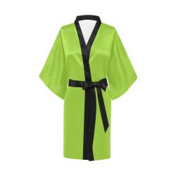 Atlantis Green Kimono Robe