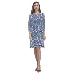 Blowing Wind Rhea Loose Round Neck Dress(Model D22)