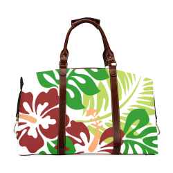 FLORAL DESIGN 44 Classic Travel Bag (Model 1643) Remake