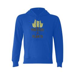 Powered by Plants (vegan) Gildan Hoodie Sweatshirt (Model H03)