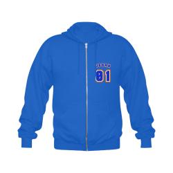 No. 1 Vegan Gildan Full Zip Hooded Sweatshirt (Model H02)