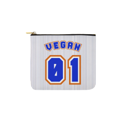 No. 1 Vegan Carry-All Pouch 6''x5''