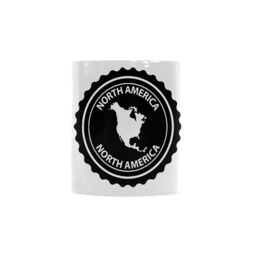 North America stamp White Mug(11OZ)