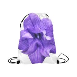 "Balloon Flower Large Drawstring Bag Model 1604 (Twin Sides)  16.5""(W) * 19.3""(H)"