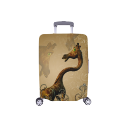 """Little frightened giraffe Luggage Cover/Small 18""""-21"""""""