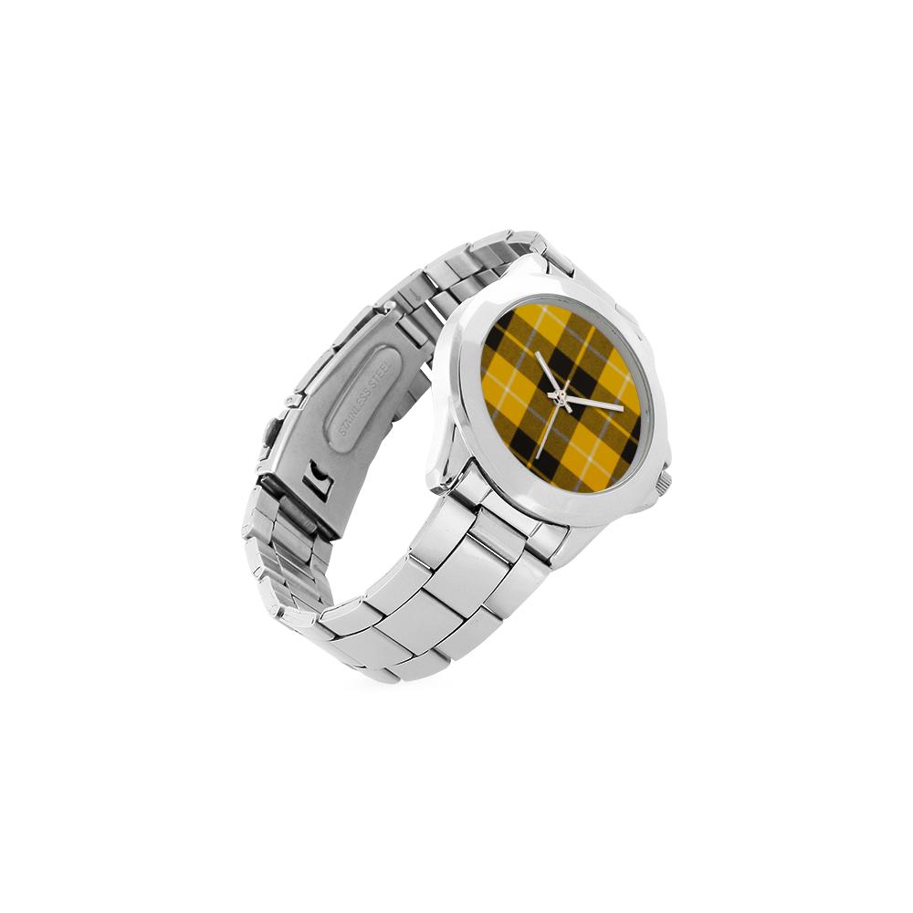 BARCLAY DRESS LIGHT MODERN TARTAN Unisex Stainless Steel Watch(Model 103)