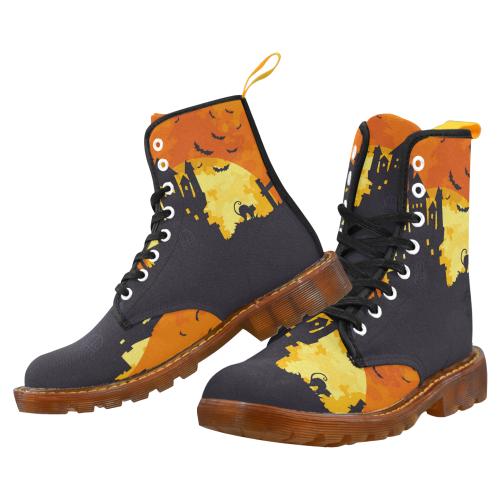 Halloween Night Martin Boots For Women Model 1203H