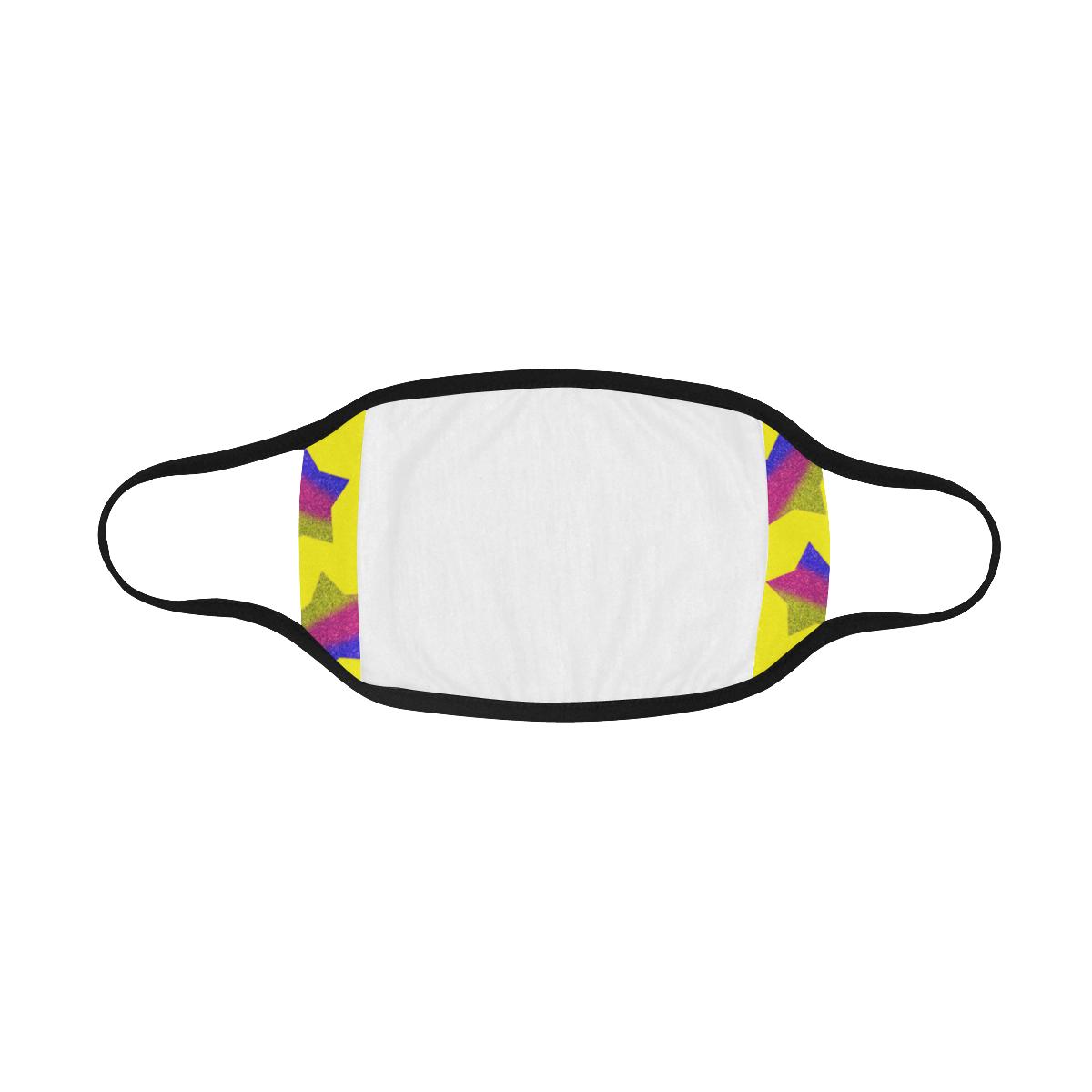 ombre glitter  star pattern Mouth Mask