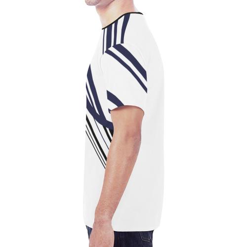 circle bar trans New All Over Print T-shirt for Men (Model T45)