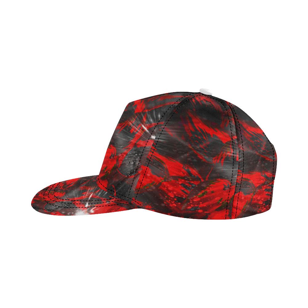 wheelVibe_vibe3 All Over Print Snapback Hat D