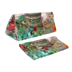 The Secret Garden Custom Foldable Glasses Case