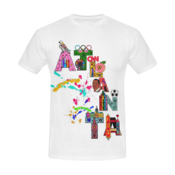 Atlanta Fun by Nico Bielow All Over Print T-Shirt for Men (USA Size) (Model T40)