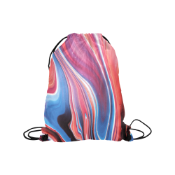 "oil_b Medium Drawstring Bag Model 1604 (Twin Sides) 13.8""(W) * 18.1""(H)"