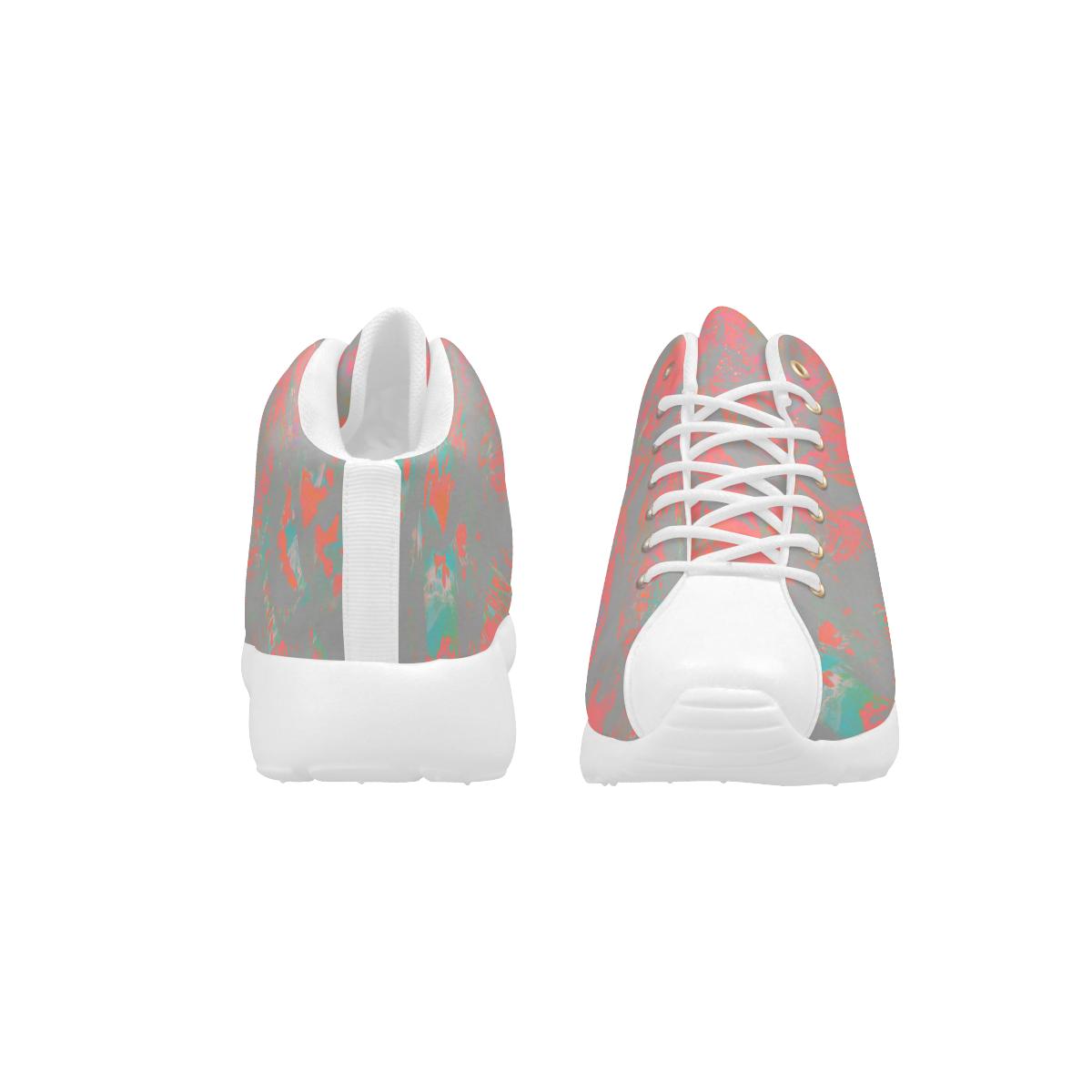 Maroon Vibe Neon Night Men's Basketball Training Shoes (Model 47502)