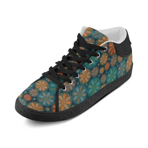 zappwaits delightful 5 Women's Chukka Canvas Shoes (Model 003)