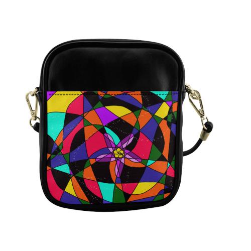 Abstract Design S 2020 Sling Bag (Model 1627)