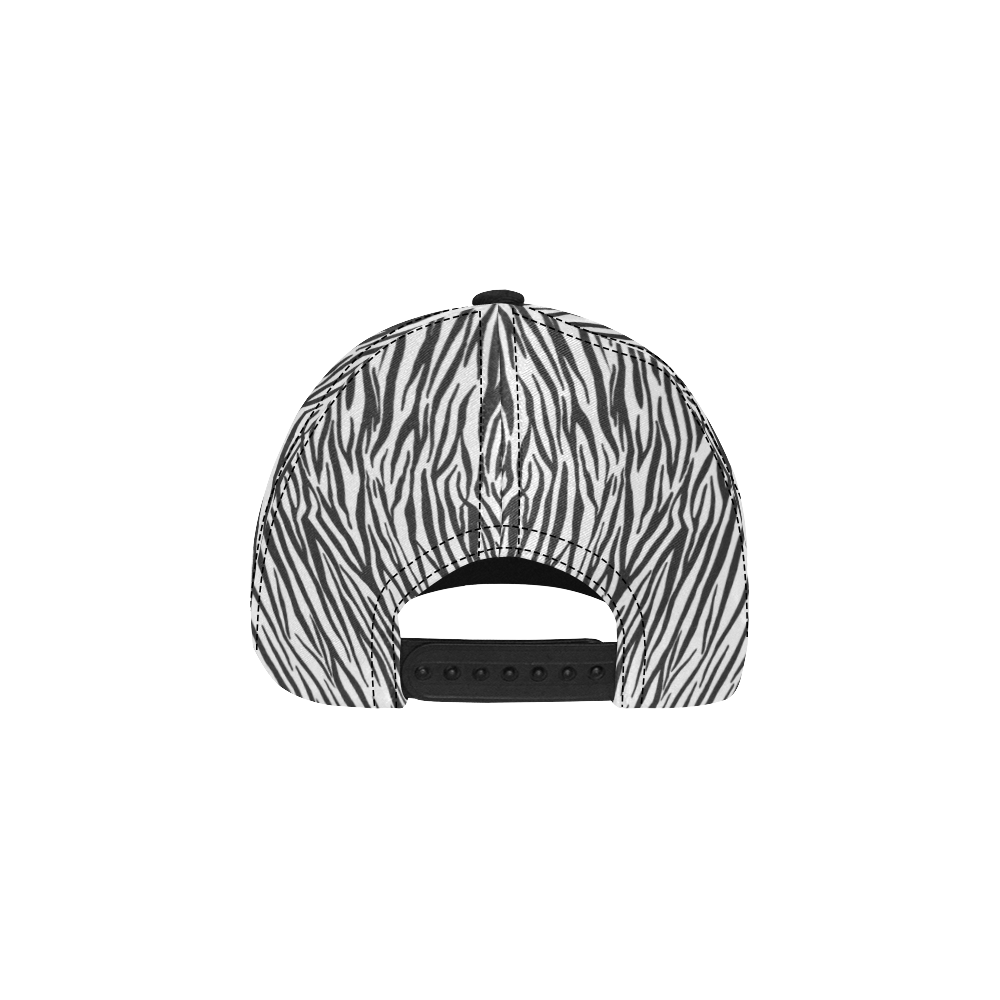 Zebra Pattern All Over Print Dad Cap C (7-Pieces Customization)