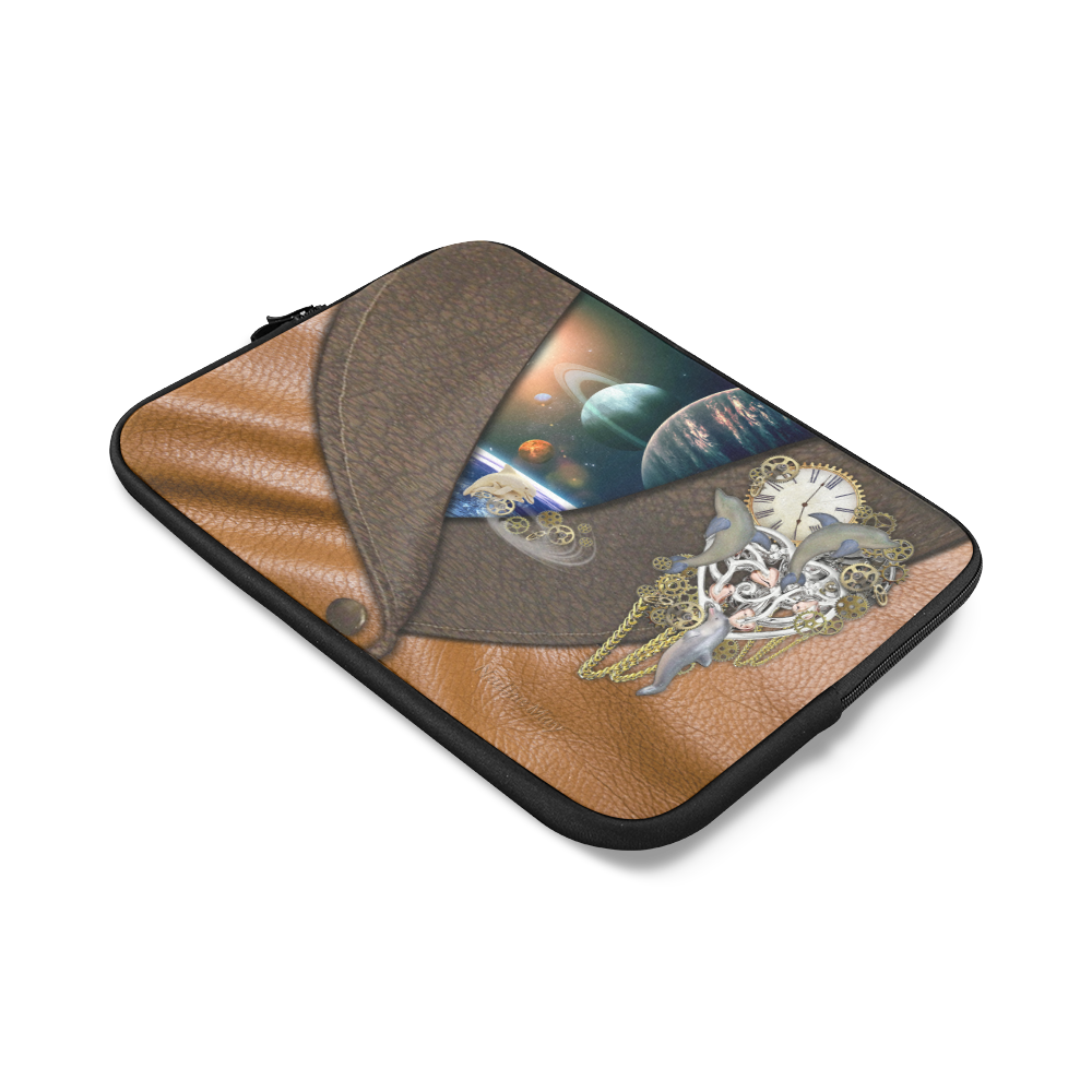 our dimension of Time Custom Laptop Sleeve 14''