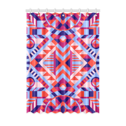 "Modern Geometric Pattern Window Curtain 52"" x 72""(One Piece)"
