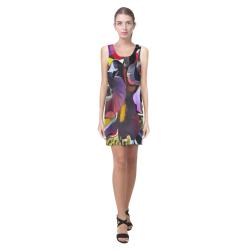 she is 3b Helen Sleeveless Dress (Model D10)