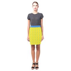 Yellow pattern-2835334 Nemesis Skirt (Model D02)