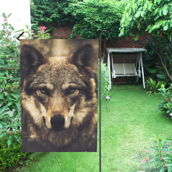Wolf 2 Animal Nature Garden Flag 12''x18''(Without Flagpole)