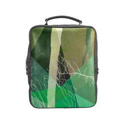 P22-B2 TREES AND TRIANGLES_BP6 Square Backpack (Model 1618)