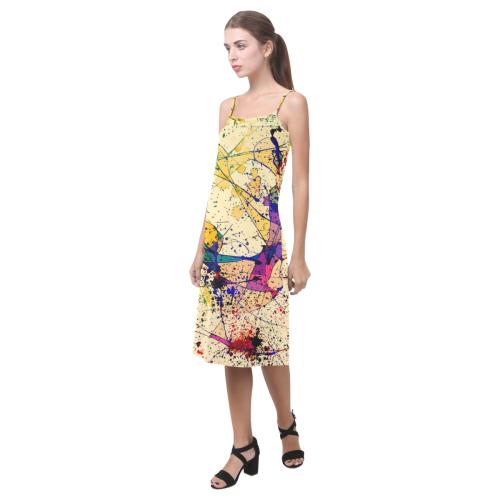 Paint Alcestis Slip Dress (Model D05)