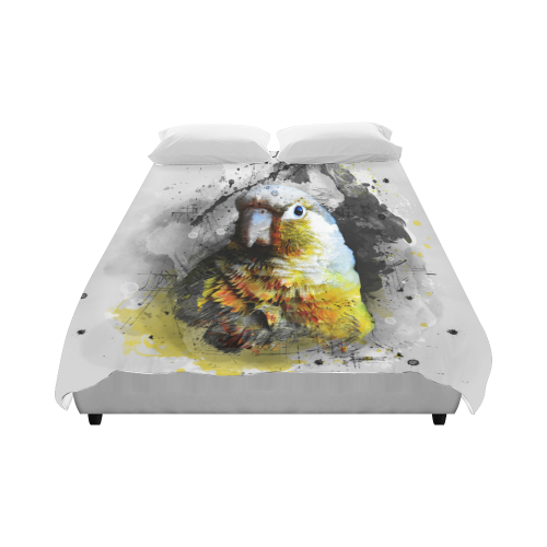 "bird parrot art #parrot #bird Duvet Cover 86""x70"" ( All-over-print)"