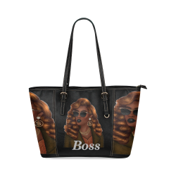 Boss Leather Tote Bag/Small (Model 1640)